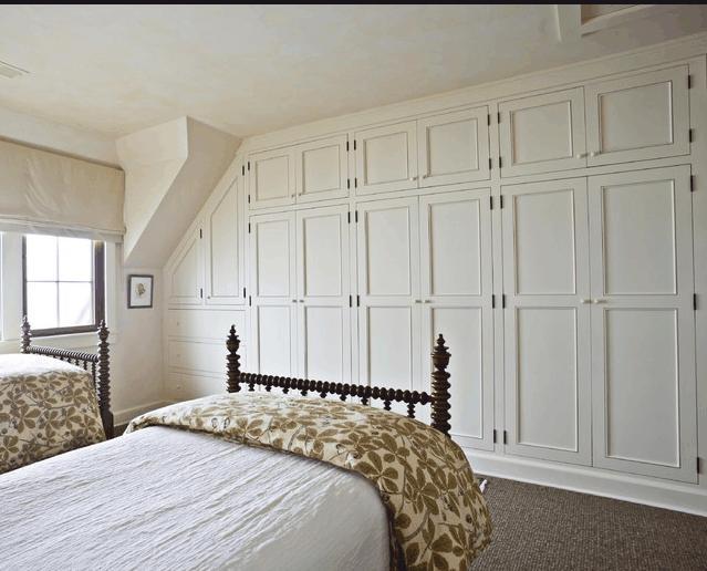 Arredamento camera da letto mansardata