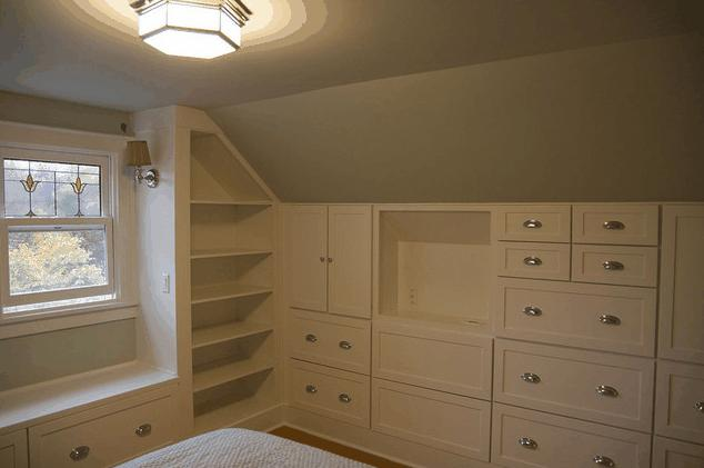 Bathroom Design Ideas Kneewall ~ Arredamenti su misura mansarda