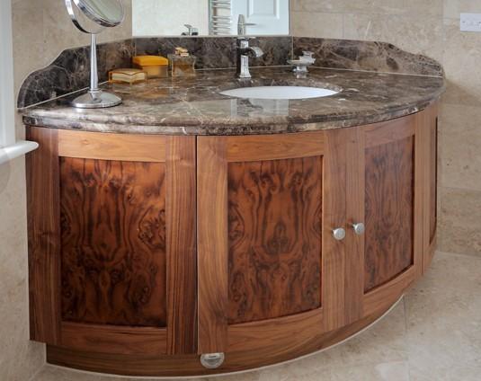 Arredo bagno in legno su misura arredo milano classico - Arredo bagno in legno ...
