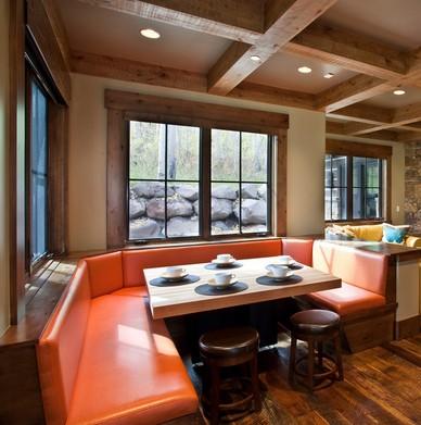 Arredi rustici montagna lmc u tavolino doppio ripiano - Idea casa arredamenti ...