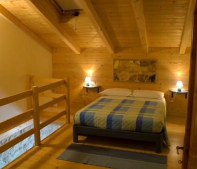 Arredo camera per mansarda casa montagna for Camere di montagna