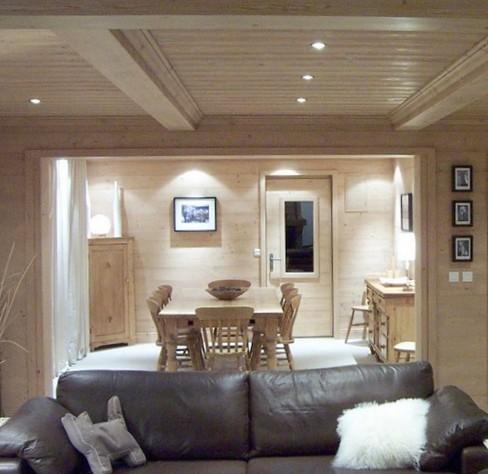 Arredamento casa di montagna latest arredamento casa in legno soggiorno rustico arredamento in - Come arredare una piccola casa di montagna ...