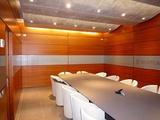 Boiserie sala riunioni