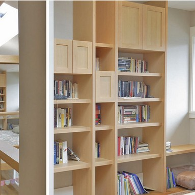 Librerie su misura for Mensole laccate su misura