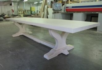 tavoli in legno massello - Tavolo Legno Massello Allungabile Usato