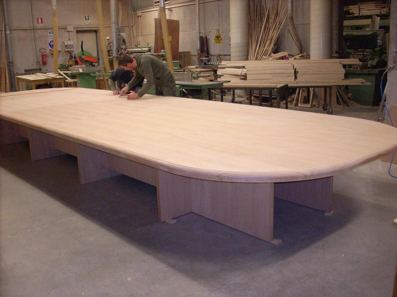 Tavolo Da Pranzo 3 Metri tavoli in legno massello